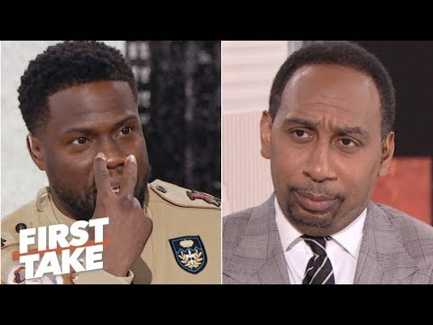 Kevin Hart defends Philadelphia to Stephen A. First Take ESPN