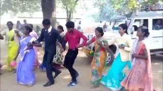 Nagpuri chain dance with Dulha Part 2