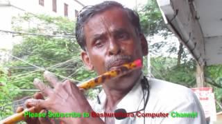 নওগাঁর বাঁশিওয়ালার জীবন বদলের হৃদয়গ্রাহী বাঁশির সুর সঙ্গীত।।Street flute player in Naogaon BD
