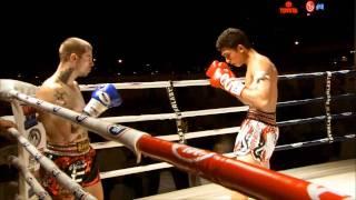 Antuan Pinto VS Zidov Akuma  - Thailand VS Middle East 2010