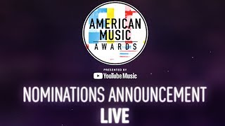 2018 American Music Awards Live Nominations Announcement!