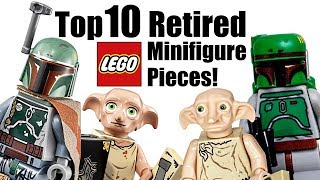 Top 10 Retired LEGO Minifigure Pieces!