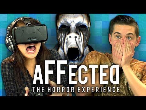OCULUS RIFT AFFECTED 1 THE MANOR Teens React Gaming