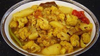 Phool Kopir Dalna | Spicy Cauliflower Curry | Bengali Home Cooking