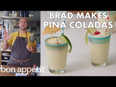 Xxx Mp4 Brad Makes BA S Best Piña Coladas From The Test Kitchen Bon Appétit 3gp Sex