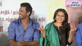 Soori Funny Speech in Marudhu Press Meet | VIshal | Sridivya | Tamil The Hindu