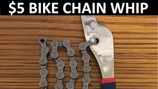 The $5 Homemade Bicycle Chain Whip - How To