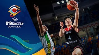Mali v Japan - Live - FIBA U19 Basketball World Cup 2017
