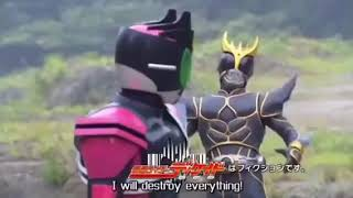 Hesei Kamen rider final episode preview Kuuga-Ex aid