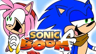 Sonic Boom Redesigns
