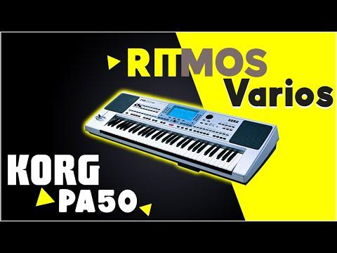 TECLADOS RITMOS RITMOS 2013 Korg Pa 50 60 80 500 600 800