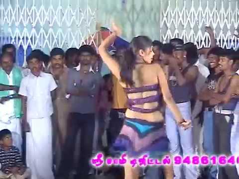 Adal Padal Hot- 1 New Village Public Midnight Tamil Record Dance -2016
