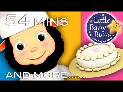 Pat A Cake Plus Lots More Nursery Rhymes 54 Minutes Compilation from LittleBabyBum