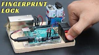 How to Make Fingerprint Door Lock at Home