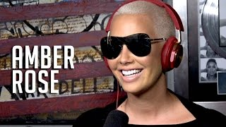 Amber Rose Announces She is Taking Over Loveline, Updates Her Love Life + Wanting Another Kid w/ Wiz