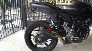 SV650A with MGP (hotbodies) exhaust