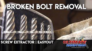 Screw extractor | easyout | broken bolt removal