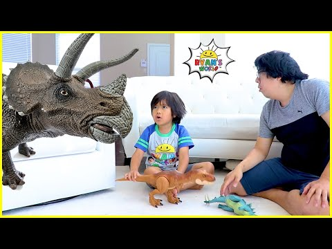 Ryan and the story about Dinosaurs in our house