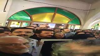 Iran, Téhéran; Funerailles d'Amir Entezam