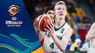 Lithuania v Egypt - Live - FIBA U19 Basketball World Cup 2017