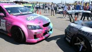 Max Orido vs Mad Mike in the pits at wtac 2013