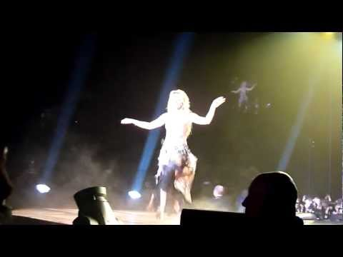 Shakira Belly Dance Poland Łódź Atlas Arena 17.05.2011 HD