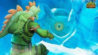 The SECRET MONSTER in THE ICE! - Fortnite *SEASON 9*