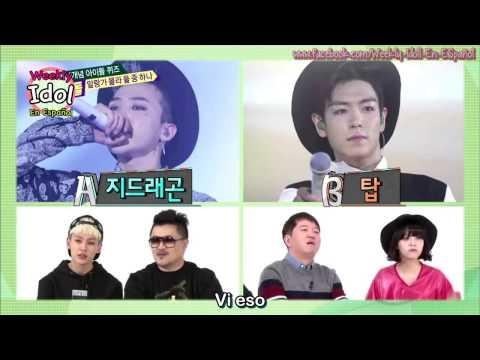 [Sub Español] 140402 Ep 141 Weekly Idol - Ranking con Ilhoon y Jimin