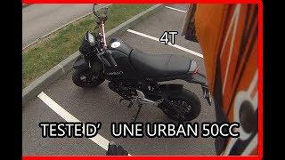 TESTE D'UNE URBAN 50CC 4T, BEAU BRUIT