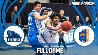 Bakken Bears (DEN) v Mornar Bar (MNE) - Full Game - FIBA Europe Cup 2017-18