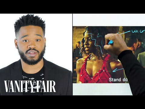 Xxx Mp4 Black Panther S Director Ryan Coogler Breaks Down A Fight Scene Notes On A Scene Vanity Fair 3gp Sex