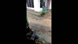Heboh..Hujan Es Batu Di Desa Colo Dawe Kudus Sore Tadi