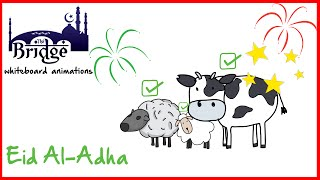Why do Muslims sacrifice and celebrate on Eid al-Adha? |Whiteboard Reminders