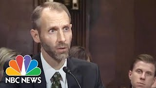 Trump Judicial Nominee Matthew Peteresen Struggles To Answer Senator's Legal Questions | NBC News