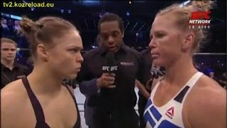 UFC 193: Ronda Rousey VS Holly Holm - FULL FIGHT (EA Sports UFC)