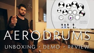 AERODRUMS - Unboxing, Review, and Demo w/ The Orlando Drummer