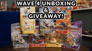 GIVEAWAY & Skylanders SuperChargers Wave 4 Unboxing!