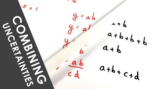 A Level Physics - Combining Uncertainties