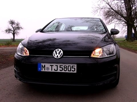 Volkswagen Golf 7 1.2 TSI 86 HP Test Drive