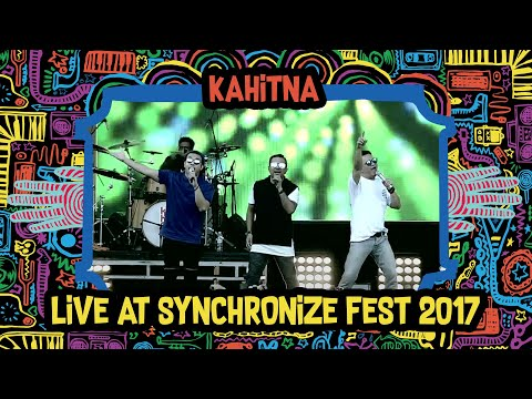 Kahitna live at SynchronizeFest - 8 Oktober 2017