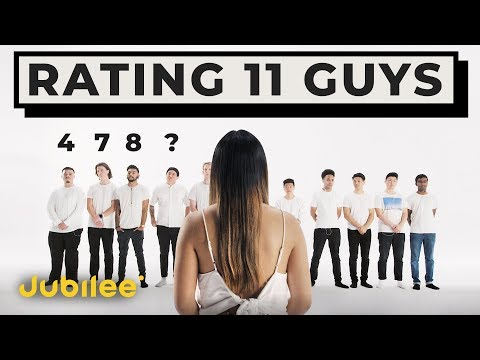 11 vs 1 Rating Guys by Looks & Personality