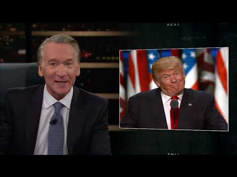 New Rule Narcissist in Chief Real Time with Bill Maher HBO