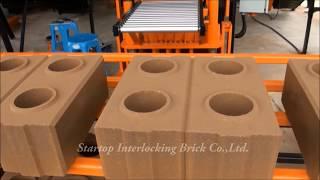 Startop Interlocking Brick - Automatic press machine Set Model: ST-A102 with Mixed Sets