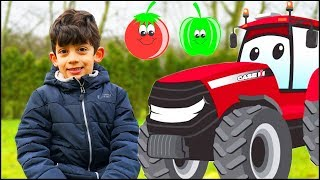 Farmer Jason Learns Fruits and Vegetables