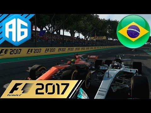 F1 2017 #19 GP DO BRASIL - ESSA É A NOSSA SEGUNDA CASA? (Português-BR)