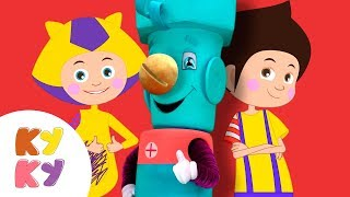 ТУК-ТУК Инструменты - КУКУТИКИ и САМОДЕЛКИН - Развивающая песенка мультик для детей малышей
