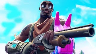 When a Fortnite Mobile BOT carries 4 games in a row..