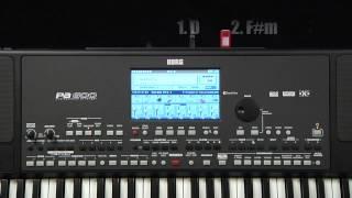 Korg Pa600 Video Manual -- Part 6: Recording a Song
