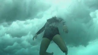 Inside a Big Wave Wipeout
