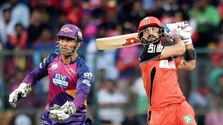 RCB vs RPS, IPL 2016: Royal Challengers Bangalore won by 7 wickets